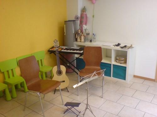 Гитарный класс в музыкальной школе в Куппенхайме (Германия)