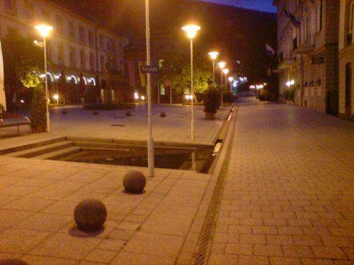 Одна из площадей города Бад Вильдбад