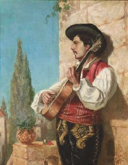 Эдмунд Блейр Лейтон. Гитарист