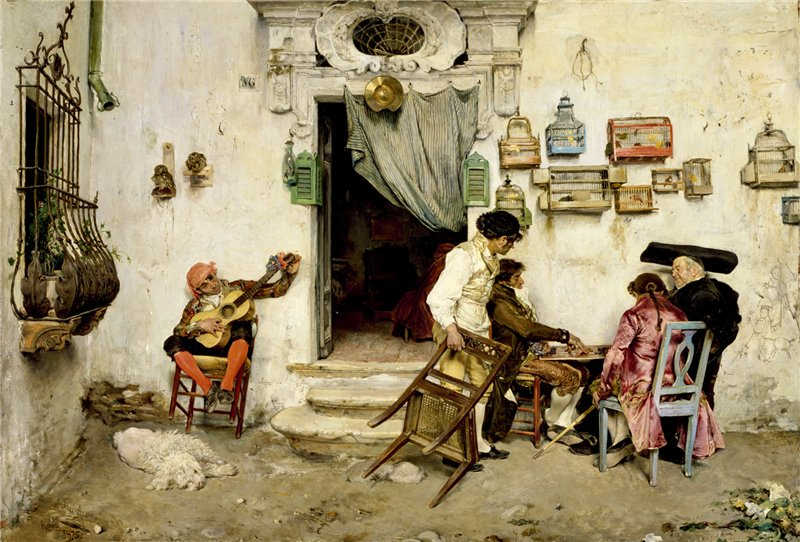 Jose Jimenez y Aranda Figaro's Shop 1875 г.