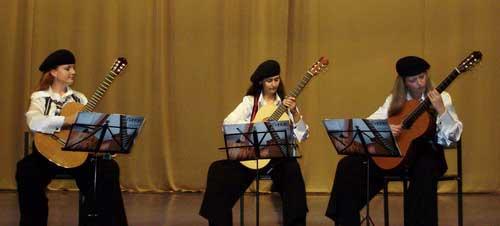 Трио гитаристов из Одессы