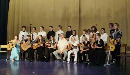 Прибалтийский гитарный оркестр