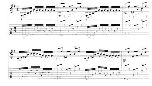 Комбинированный способ записи гитарной музыки