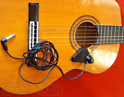 Подзвучиваем гитару с помощью звукоснимателя
