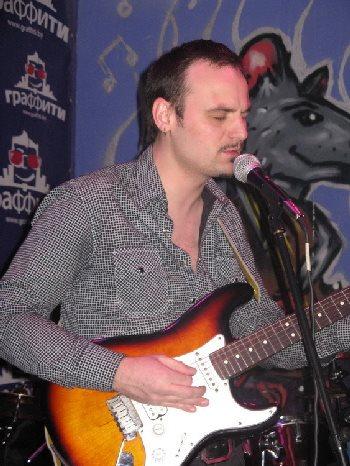Блюзовый гитарист Сергей Курек