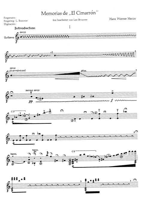 Современнвя классическая гитарная музыка может выглядеть даже так