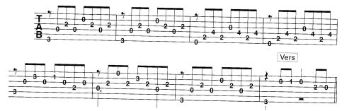 Гитарная табулатура