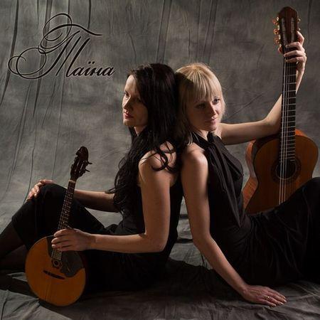 Гитарно-домровый дуэт Таина  с концертами по Беларуси