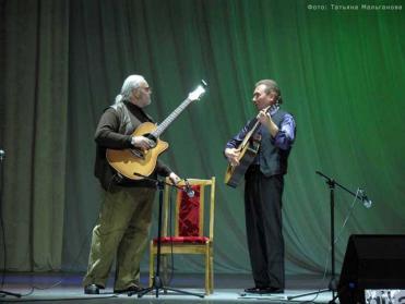 Дуэт гитаристов Владимир Угольник и Олег Копенков