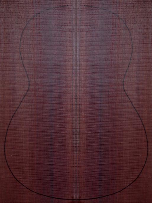 Ещё пример индийского палисандра