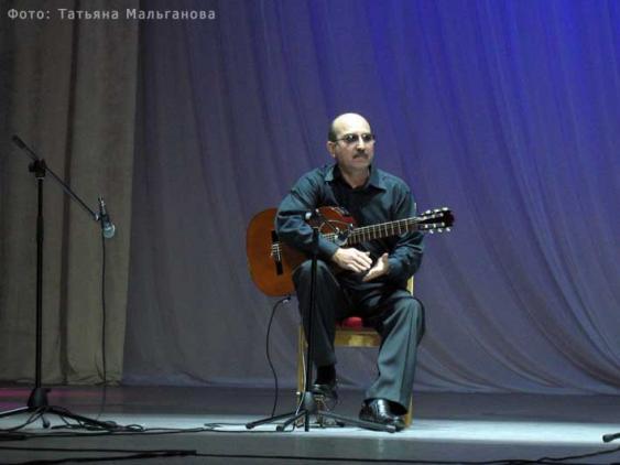 Гитарист Владимир Мальганов
