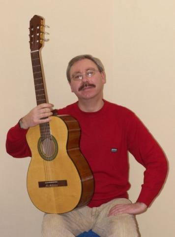 Гитарист Сергей Колган