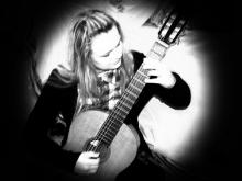 Гитаристка Анна Валицкая