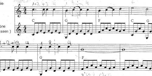Исполни мелодию на трех струнах гитары и угадай ее