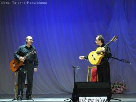 Дуэт гитаристов Владимир Мальганов и Александр Терехов