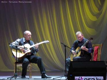 Дуэт гитаристов Павел Маскальчук и Олег Копенков