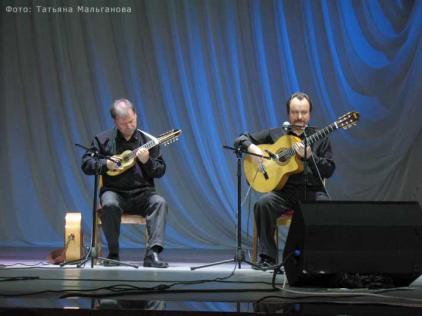 Дуэт гитаристов Владимир Ткаченко и Александр Терехов