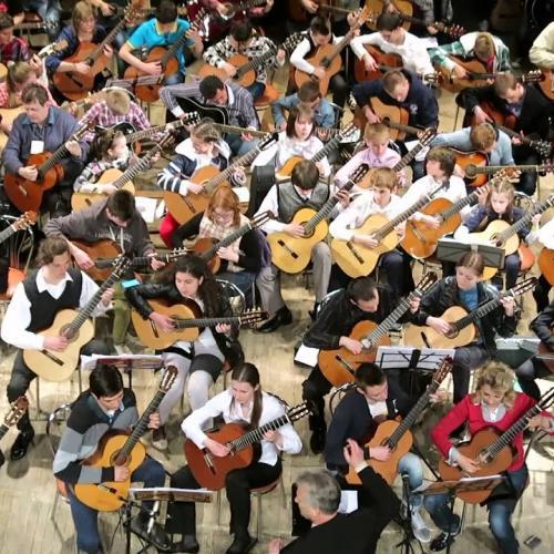Гитарный оркестр в Гомеле