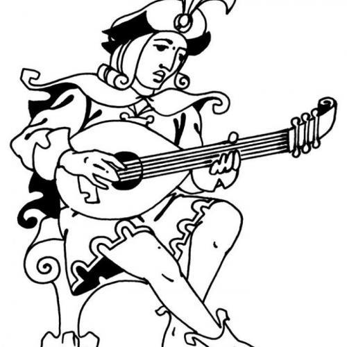 """Фестиваль и конкурс """"Ренессанс гитары"""". Большой логотип"""