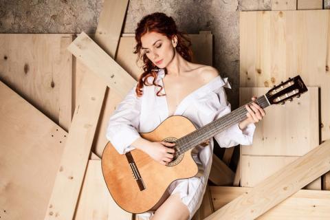 Гитаристка Нина Якименко