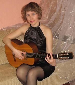 Преподаватель гитары, композитор Светлана Ветушко