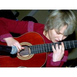 Гитаристка Елена Дроздова