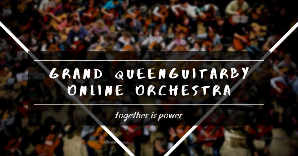 Гитаристы разных стран в одном оркестре