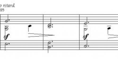 Диатонические гармонии хорового стиля