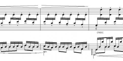Гитарное триольное движение в Астурии, добавленное Андресом Сеговией