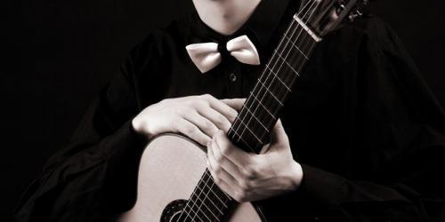 Белорусский гитарист Ян Скрыган