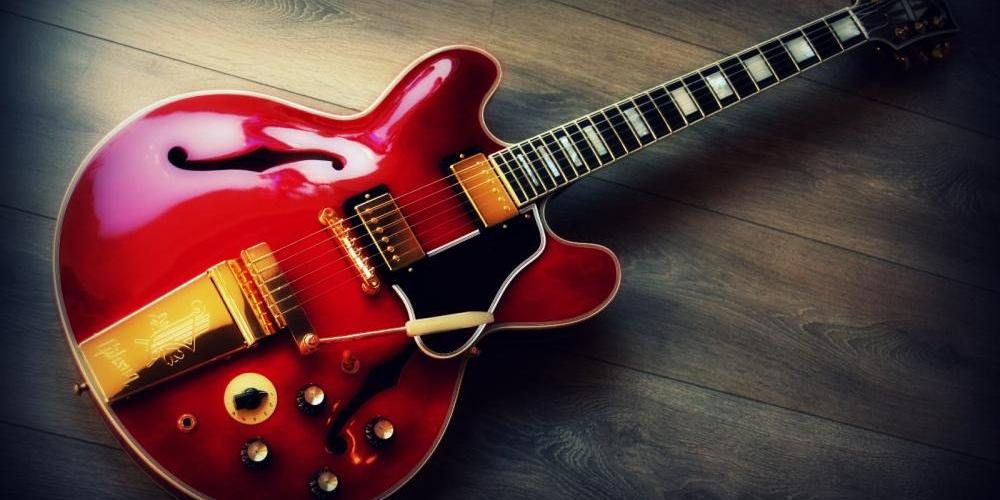 Что такое полуакустическая гитара
